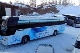 Продаем на запчасти автобус МАН 240 Чернолесское