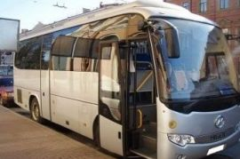 Аренда автобуса Хайгер 6129 турист Навля