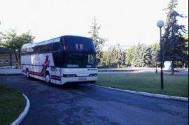 Перевозка людей на автобусе ХАЙГЕР 6129 Успенка
