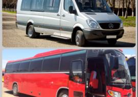 Аренда автобуса, пассажирские перевозки Налобиха