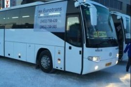 Перевозка людей на автобусе Hyundai Акъяр