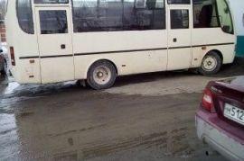Перевозка людей на автобусе KIA GRANDBIRD Быстрый Исток