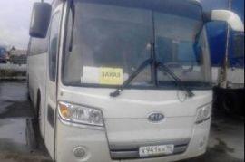 Перевозка людей на автобусе Ивека Ухта