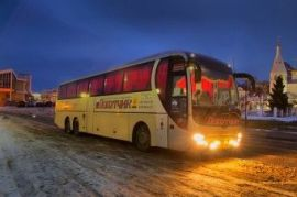 Аренда автобуса подвоз сотрудников Симферополь