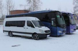 Перевозка людей на автобусе Hyundai Aerocity540 (туристический) Арья