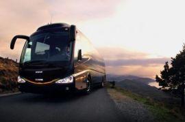 Перевозка людей на автобусе Кия Грандберд Лобва