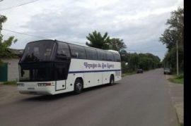 Перевозка людей на автобусе Mercedes Стрелецкое