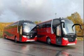 Комфортабельный автобус.Из Омска по Росси. Омск
