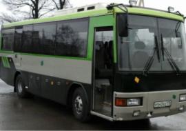 Автобус на заказ Якшур-Бодья
